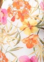 Body Verónica floral