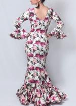 Traje de flamenca Abril