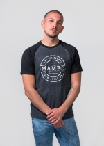 Camiseta Mambo Gris/negra