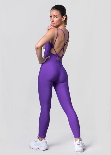 Bali violet jumpsuit