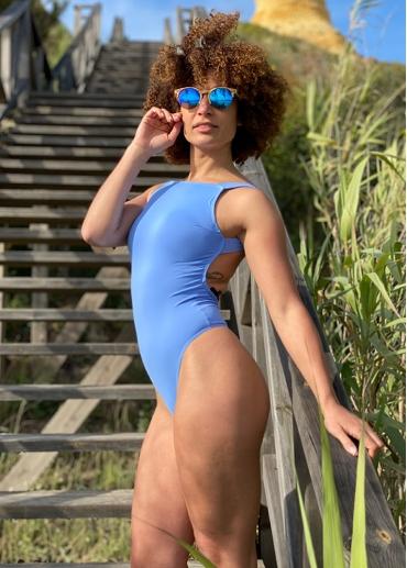 Verónica Blue delave Bodysuit