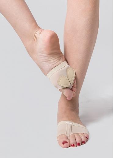 Arañas de danza o protector del pie