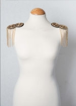 Hombrera golden chains