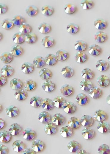 Pedrería o strass de cristal AB ss20 alto brillo